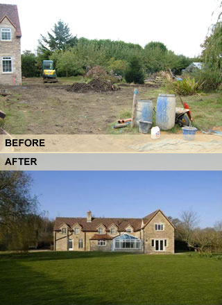 Lawns: Before and After Pictures